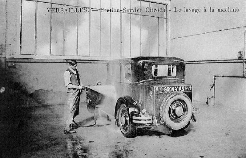 Garages citro n avant guerre for Garage citroen paris 17