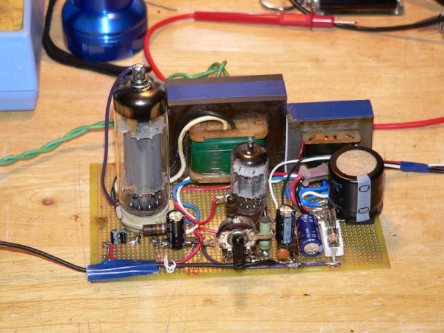 Schema Elettrico Amplificatore Valvolare Per Chitarra : Ampli otl pagina