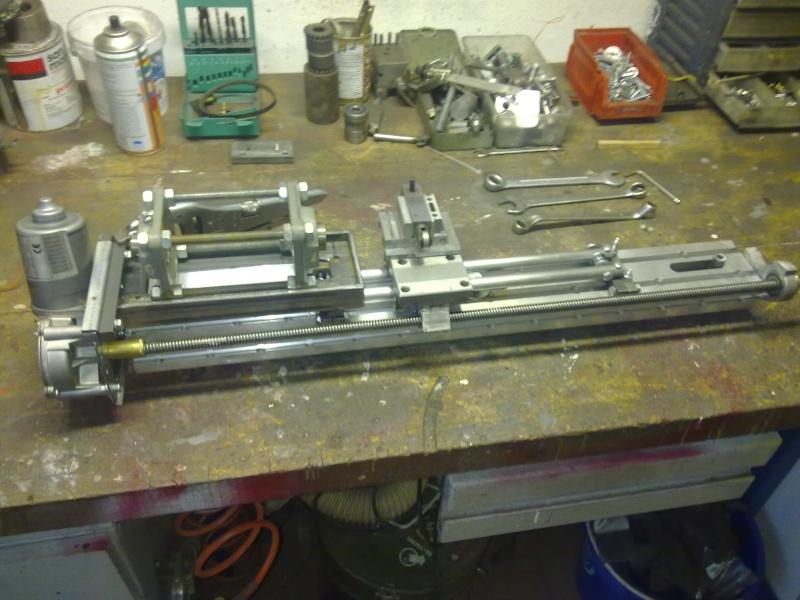 Tornio con copiatore per legno terminato for Tornio per legno con copiatore usato