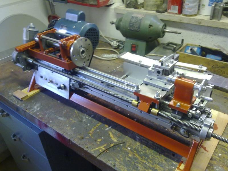 Tornio con copiatore per legno terminato pagina 3 for Tornio per legno con copiatore usato