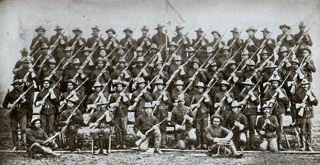 The buffalo soldiers for Black k treize
