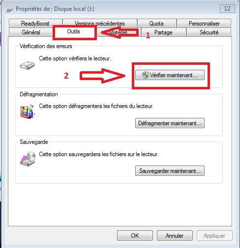 disque dur interne ntfs