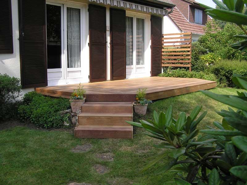 Terrasse bois for Agrandir terrasse bois