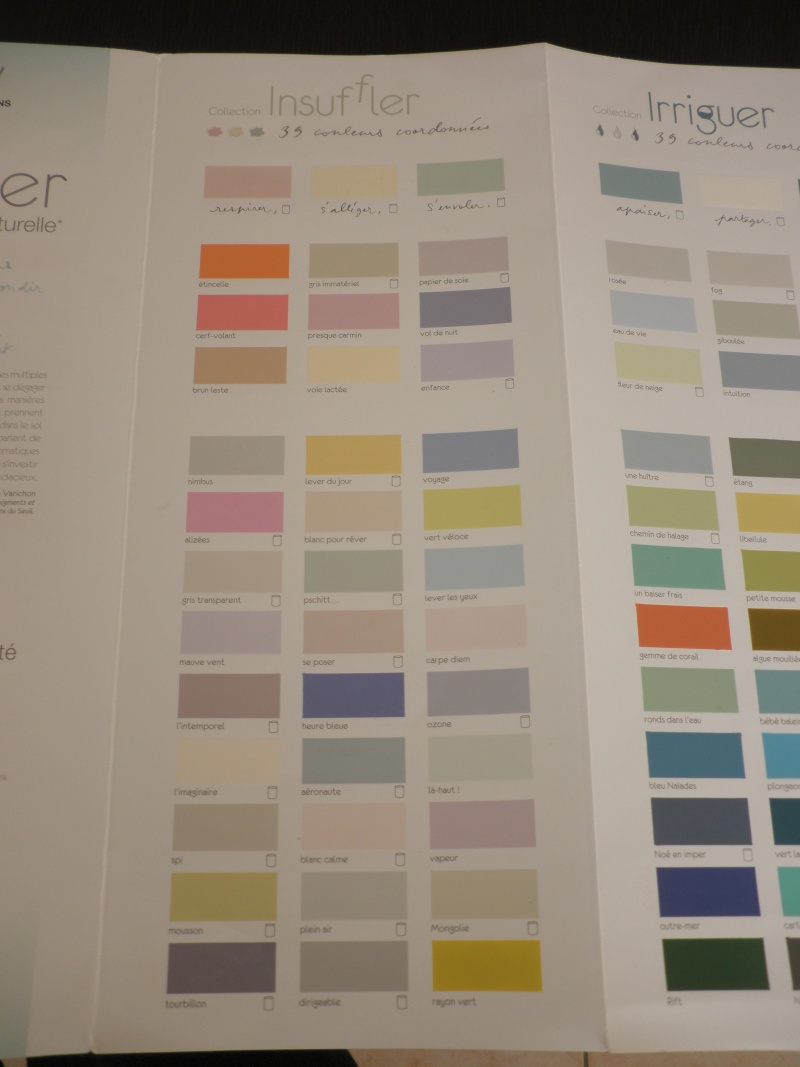 nuancier peinture leroy merlin envie id e. Black Bedroom Furniture Sets. Home Design Ideas
