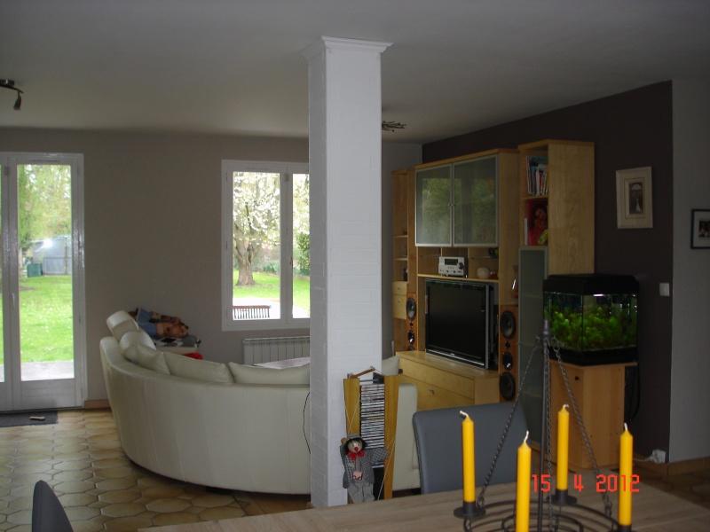 Salon salle manger peinture 2 couleurs for Peindre salle de bain quelle couleur