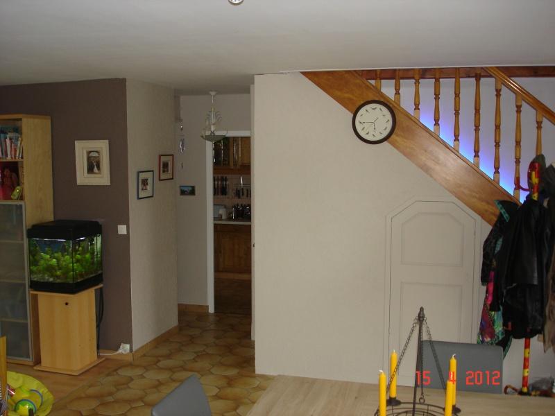 Salon salle manger peinture 2 couleurs - Peinture salon 2 couleurs ...