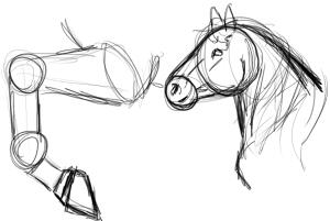 D butant m thode de construction pour dessiner un cheval toutes techniques - Comment dessiner un cheval au galop ...