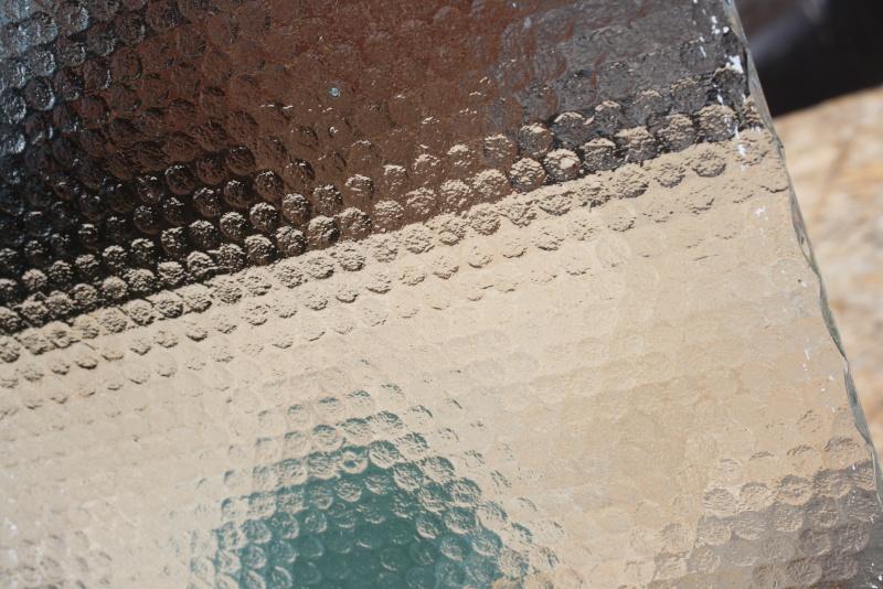 Vintage Obscure Glass Window Pane