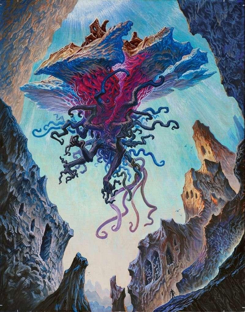 Liliana vess et personnages de magic the gathering for Portent gatherer