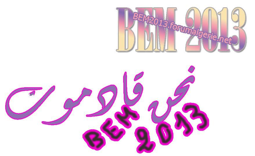 BEM 2013 .. ♥