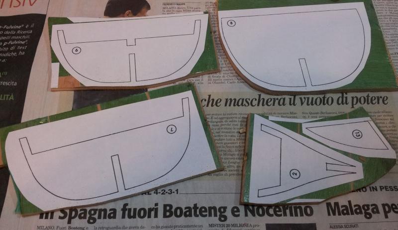 Caravella pinta nazacri for Piani di veranda chiusa gratis