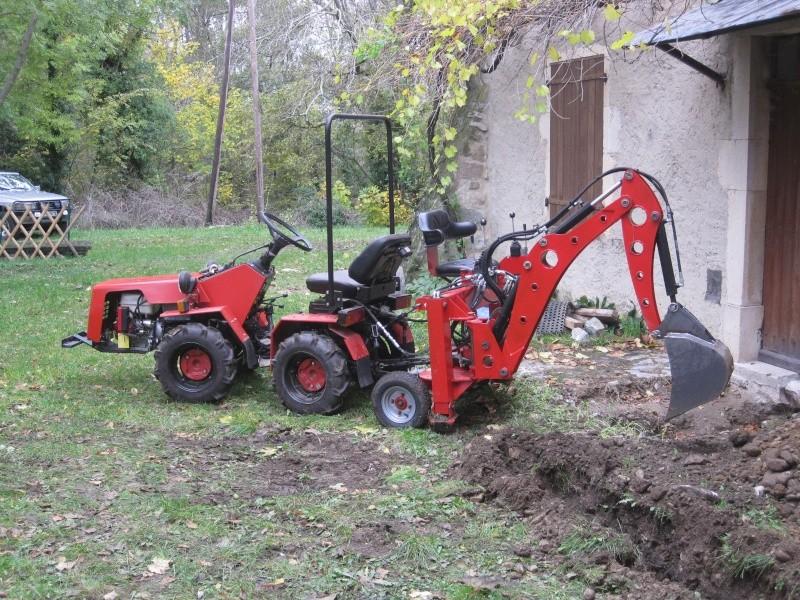 modification pelle retro bach 39 alu pour micro tracteur trop l ger. Black Bedroom Furniture Sets. Home Design Ideas