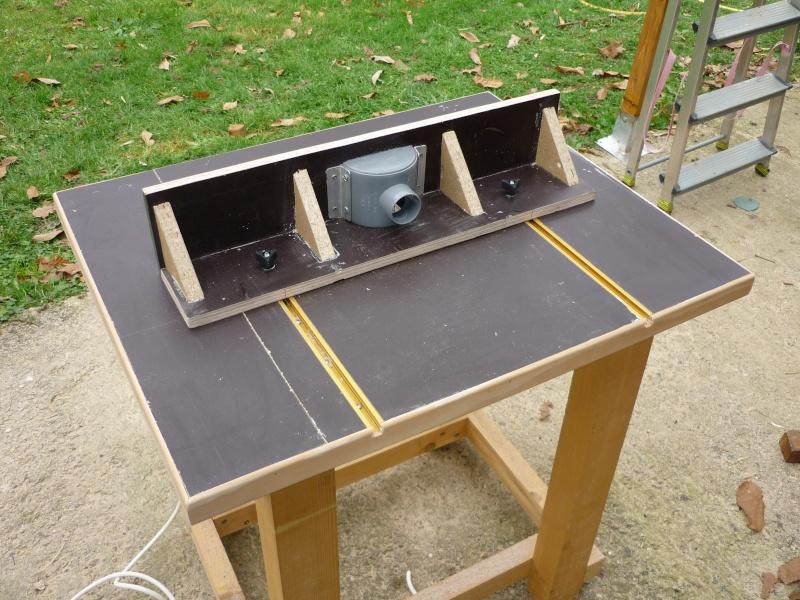 R alisation table de d fonceuse par geoff3 - Scie sur table fabrication maison ...