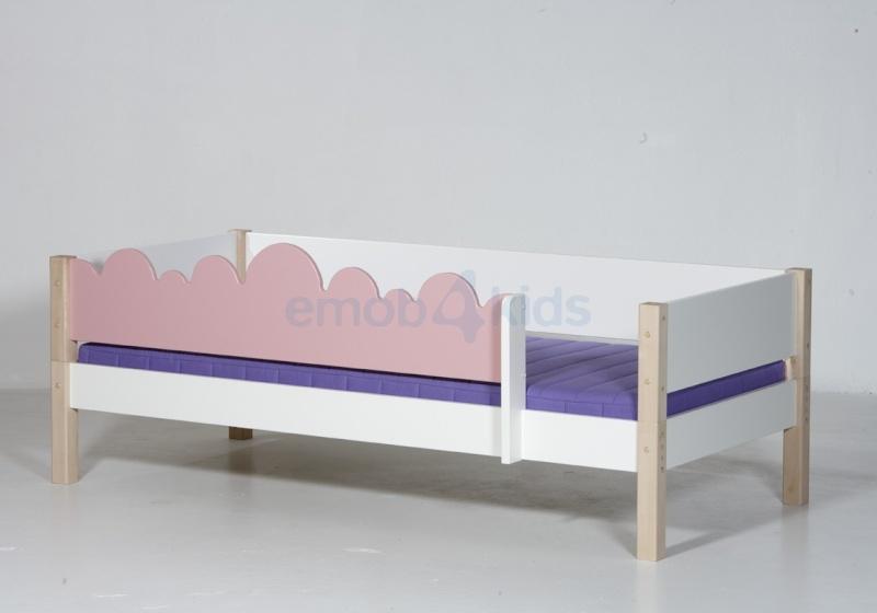 Fabriquer encadrement lit enfant for Fabriquer une barriere en bois