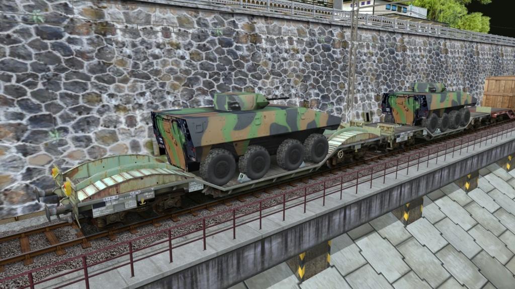 Wagons surbaissés d' Aurélien - Forum - Trains & Trainz